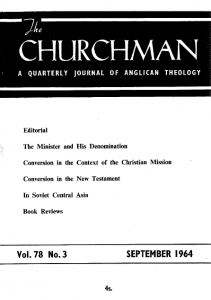 Churchman 1964